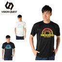 ビジョンクエスト VISION QUEST バスケットボールウェア 半袖シャツ メンズ ゴールネットTシャツ VQ570413I04