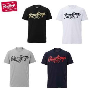 ローリングス 野球ウェア 半袖Tシャツ メンズ ビックロゴTシャツ AST9S09 Rawlings