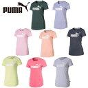 プーマ Tシャツ 半袖 レディース ESS NO.1 ロゴ杢半袖Tシャツ 853869 PUMA