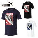 プーマ Tシャツ 半袖 メンズ スニーカープリントTシャツ 854074 PUMA