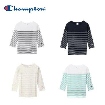チャンピオン Champion Tシャツ 7分丈 レディース ウィメンズ 3/4スリーブ 7分袖 CW-P402