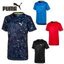 プーマ Tシャツ 半袖 ジュニア ACTIVE AOP ポリ半袖T 843966 PUMA