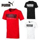 プーマ Tシャツ 半袖 ジュニア ACTIVE アクティブ AOP 胸ロゴ 半袖T 843970 PUMA