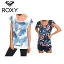 ロキシー ROXY Tシャツ 半袖 レディース GOLDY ROAD TEE ゴールディ ロード ティー ERJKT03538
