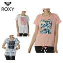 ロキシー ROXY Tシャツ 半袖 レディース 速乾 UVカット ロングテール TAKE ME TO THE TROPICS RST191535