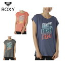 ロキシー ROXY Tシャツ 半袖 レディース 速乾 UVカット ロングテール GRADATION グラデーション RST191537