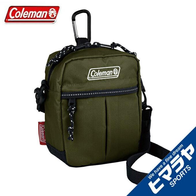 コールマン ショルダーバッグ メンズ レディース キューブ オリーブリーフ 2000034397 Coleman