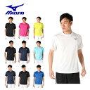 【基本送料無料 10/3 17:00〜10/11 8:59】 ミズノ テニスウェア バドミントンウェア Tシャツ 半袖 メンズ 62JA9Z01 MIZUNO
