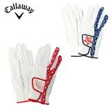 キャロウェイ ゴルフ 両手用グローブ レディース Bear Dual Glove WMS ベア デュアル グローブ ウィメンズ 19 JM Callaway