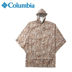 コロンビア レインウェア レインコート ポンチョ メンズ スペイパインズポンチョ PU1658 160 Columbia