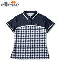 エレッセ ellesse テニスウェア ゲームシャツ レディース ショートスリーブチームポロ S/S Team Polo ETS0910L-NC
