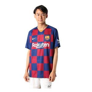 ナイキ サッカーウェア レプリカシャツ メンズ バルセロナ 2019/20 スタジアム ホーム AJ5532-456 NIKE