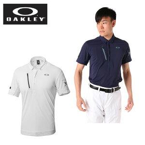 オークリー ゴルフウェア ポロシャツ 半袖 メンズ SKULL SLIGHTLY INTERFERENCE SHIRTS スカル インターフェレンス シャツ 434182JP OAKLEY