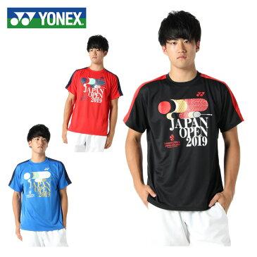 ヨネックス テニスウェア Tシャツ 半袖 メンズ 2019ジャパンオープン 限定ユニ YOB19300 YONEX