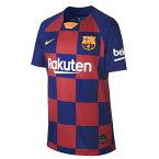 ナイキ サッカーウェア レプリカシャツ ジュニア FC バルセロナ 2019/20 スタジアム ホーム AJ5801-457 NIKE