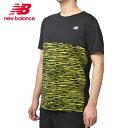 ニューバランス スポーツウェア 半袖Tシャツ メンズ NB Hanzo ショートスリーブ グラフィックTシャツ AMT93192 SYE new balance