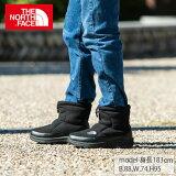 ノースフェイス スノーブーツ メンズ レディース ヌプシブーティーウール5ショート Nuptse Bootie Wool V Short NF51979 K THE NORTH FACE