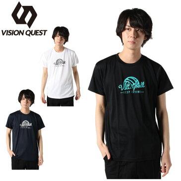 ビジョンクエスト VISION QUEST バレーボールウェア 半袖シャツ メンズ バレープレイヤー Tシャツ VQ570513J02