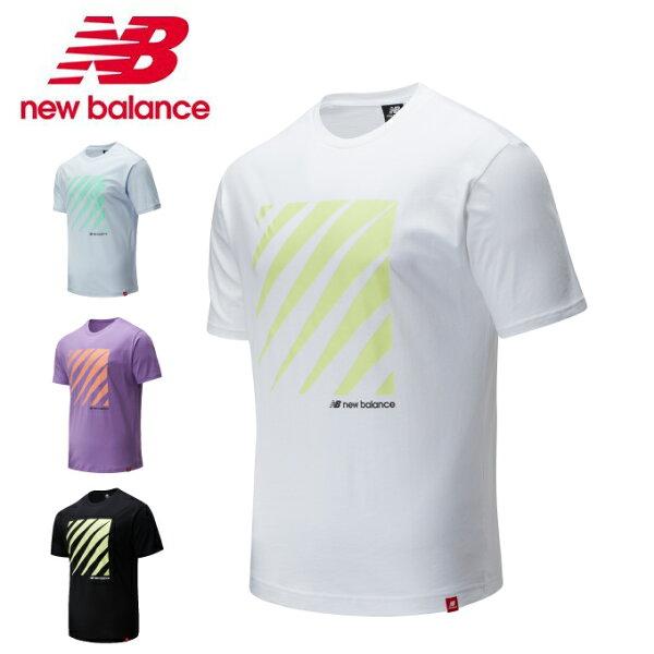 ニューバランスTシャツ半袖メンズ997collectionスポーツスタイルオプティクスショートスリーブTシャツMT01539ne
