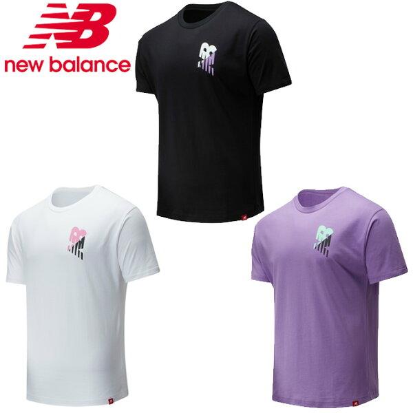 ニューバランスTシャツ半袖メンズ574collectionエッセンシャルズローファイグラニーショートスリーブTシャツMT0155