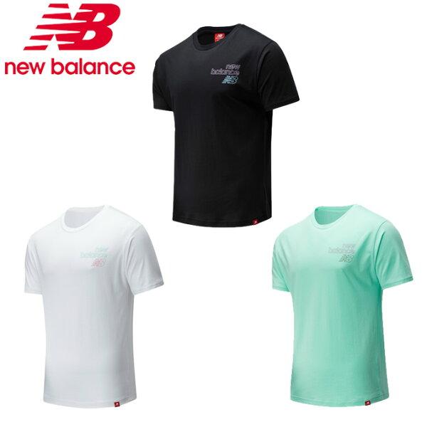 ニューバランスTシャツ半袖メンズ574collectionエッセンシャルズトウキョウナイトシグナルショートスリーブTシャツMT0