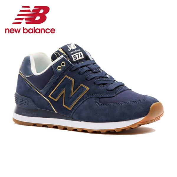 ニューバランスWL574WL574SOCBスニーカーレディースnewbalance