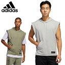 アディダス スポーツウェア 半袖 メンズ 東京 フード付きTシャツ TKO Hooded Tee GLT83 adidas