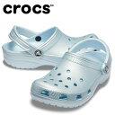 クロックス クロックサンダル レディース クラシック メタル クロッグ 205831-4JY crocsの商品画像
