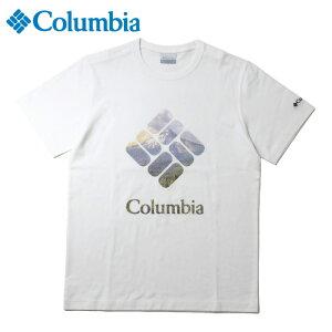 コロンビア Tシャツ 半袖 メンズ タクフォーク SS T PM1896 101 Columbia