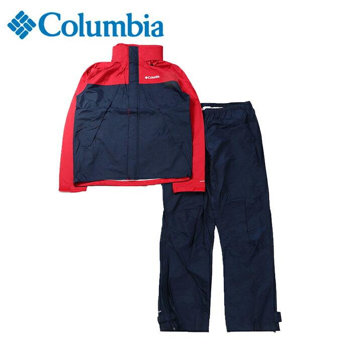 コロンビアレインウェア上下セットメンズシンプソンサンクチュアリ2レインスーツPM0126613Columbia