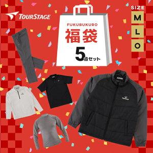 【2021福袋】 ツアーステージ(TOURSTAGE) メンズ福袋 ゴルフウェア FUKU1A 福袋 5点セット【クーポン利用不可】