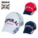 アドミラル Admiral ゴルフ キャップ メンズ メッシュキャップ ADMB1F11