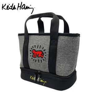 キースヘリング Keith Haring カートバッグ メンズ レディース ゴルフ 二層式 保冷機能付き ラウンドバッグ Baby KHRB-07