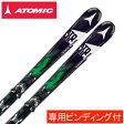 アトミック ATOMICスキー板 セット金具付BLACKEYE ARC-L +XTO12【15-16 2016モデル】