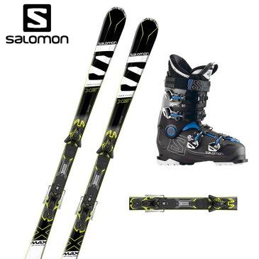 サロモン salomon スキー板 メンズ レディース スキー3点セット X-MAX X9Ti +XT12-14+X PRO 90 エックスマックス + エックスティー +エックスプロ 【取付無料】