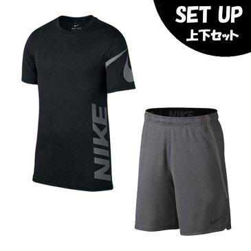 ナイキ 半袖Tシャツ ハーフパンツ セット メンズ DRI-FIT ハイパードライ GFX S/S トップ + DRI-FIT ショート 4.0 889630-010 + 890812-036 NIKE