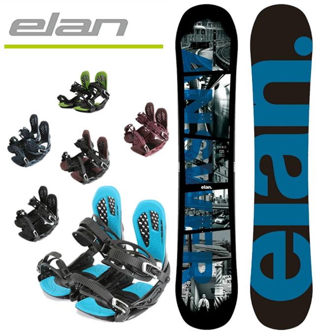 エラン ELAN スノーボード ビンディング2点セット ANSWER-W+AXEL 2 000724933setd
