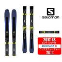 サロモン スキー板セット 金具付 メンズ XDR 80 Ti...