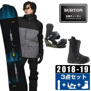 バートン BURTON スノーボード 3点セット メンズ INSTIGATOR + CUSTOM TRUE GRIT + MOTO AF ボード+ビンディング+ブーツ
