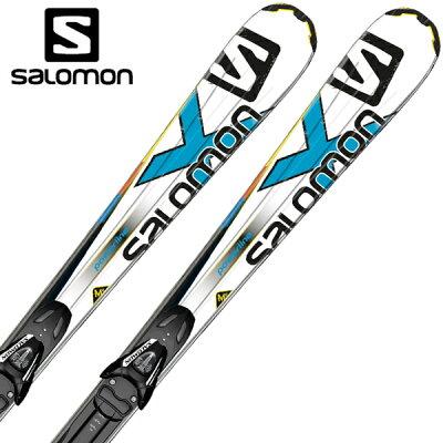 【店内全品送料無料 11/29まで】サロモン(SALOMON) スキー板(ビンディング付) 24 X-KART SPORT + L10 (L35604300)<2014>【金具付き・取付料無料】