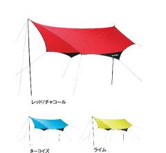 ヘプタゴン(7角形)デザインが特徴。バリエーションに富んだ設営が可能。夏フェス・野フェスで...