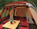 スノーピークの寝室用オプション小型テントリビングシェル内に収まる快適寝室のインナールーム...