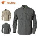 フォックスファイヤー(Foxfire)トレッキング 長袖シャツ(メンズ)スコーロン(R)ソリッドシャツL/S(5212354)(山登り アウトドア 登山用品 キャンプ ハイキング 送料無料 楽天)