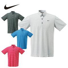 【2014年春夏モデル】 ナイキ(NIKE) ゴルフウェア ポロシャツ(メンズ) ボーダー半袖BDNポロ 659388
