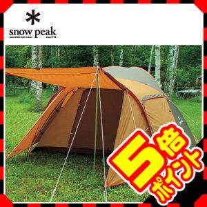 スノーピークの優れた居住空間テント。ファミリー向けのアメニティドーム。【スマホエントリー...