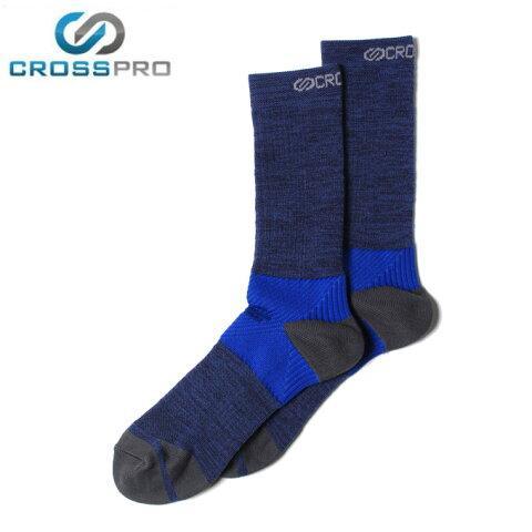 クロスプロ CROSS PRO トレッキングソックス メンズ グリップサポートクルーソックス Z578-102-26-61 od