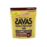 ザバス サプリメント プロテイン ホエイプロテイン100チョコレート バッグ2,520g 約120食分 CZ7343 SAVAS run