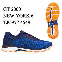 アシックス asics ランニングシューズ メンズ GT2000 NEWYORK6 ニューヨーク6 マラソン ジョギング GT2000-6 TJG977 4549 run