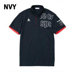 ルコック le coq sportif ポロシャツ 半袖 Tシャツ メンズ ボタンダウン機能ポロシャツ QMMNJA41 run