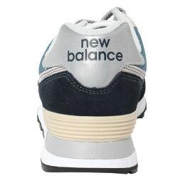ニューバランス スニーカー メンズ レディース ML574 ML574ESS DNV D ネイビー 定番 new balance run